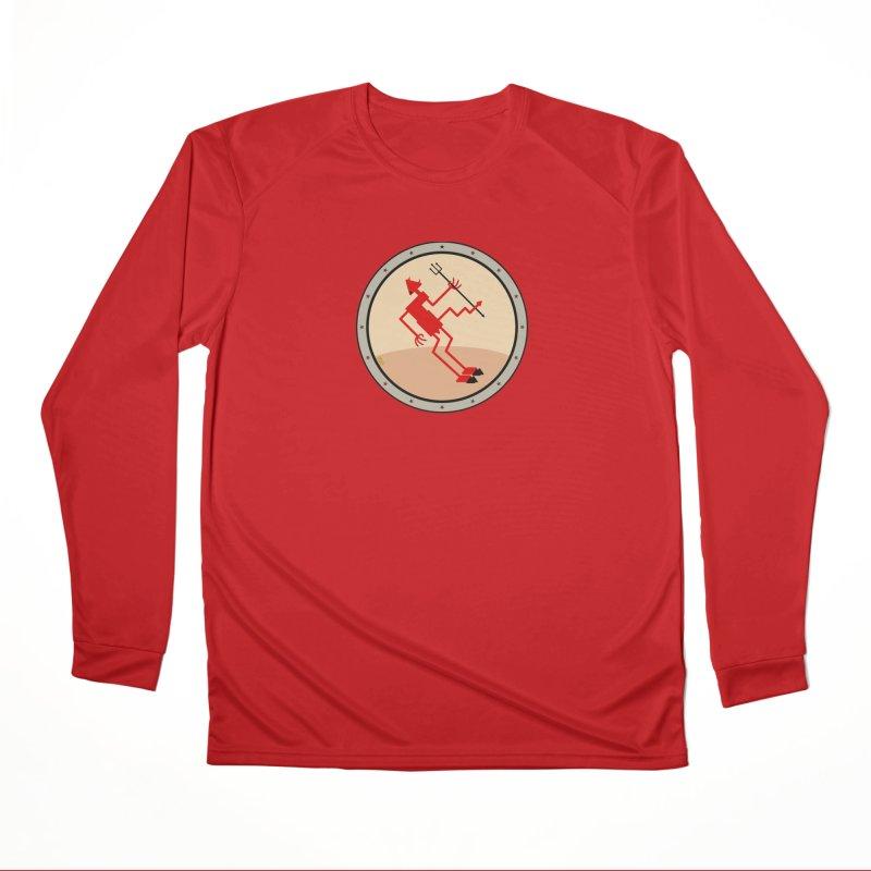 Squiggly Devil Women's Performance Unisex Longsleeve T-Shirt by falconlara.design shop