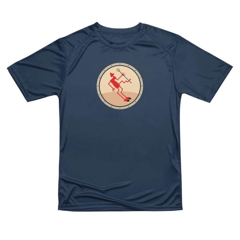 Squiggly Devil Men's Performance T-Shirt by falconlara.design shop