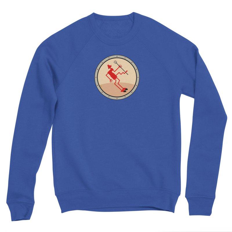 Squiggly Devil Men's Sweatshirt by falconlara.design shop