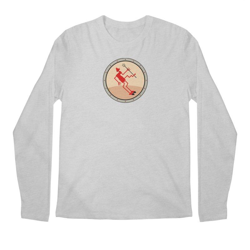 Squiggly Devil Men's Regular Longsleeve T-Shirt by falconlara.design shop