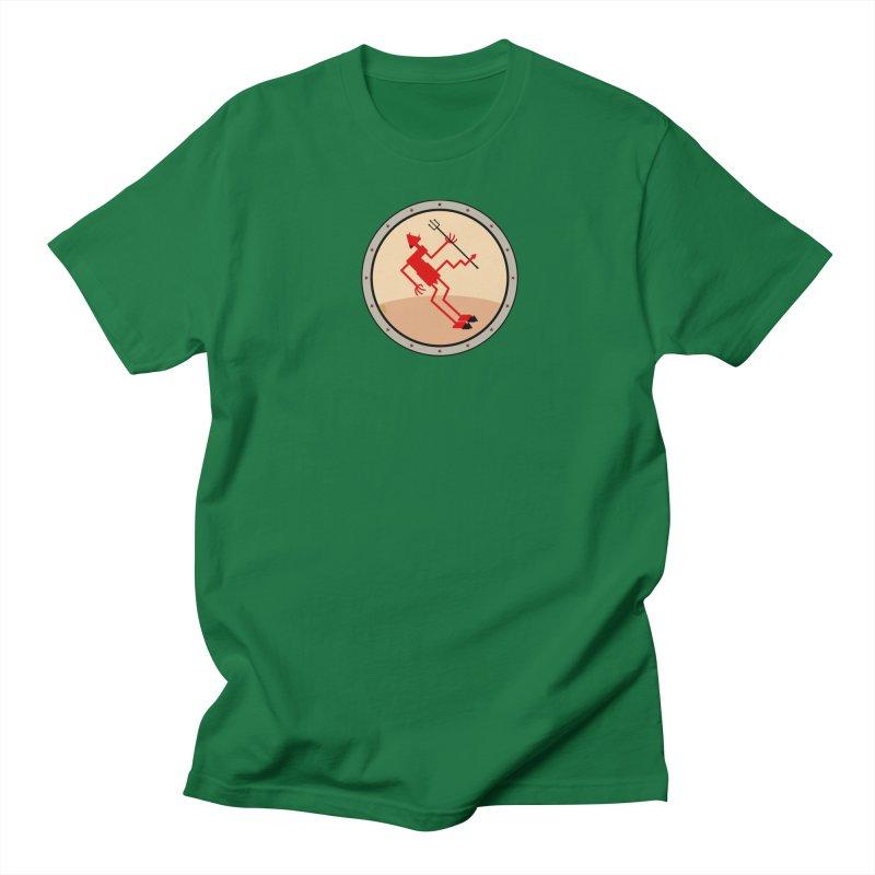 Squiggly Devil Women's Regular Unisex T-Shirt by falconlara.design shop