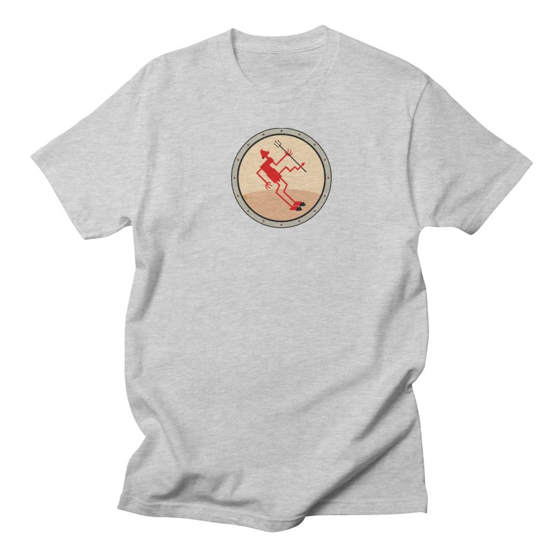 Squiggly Devil Men's Regular T-Shirt by falconlara.design shop