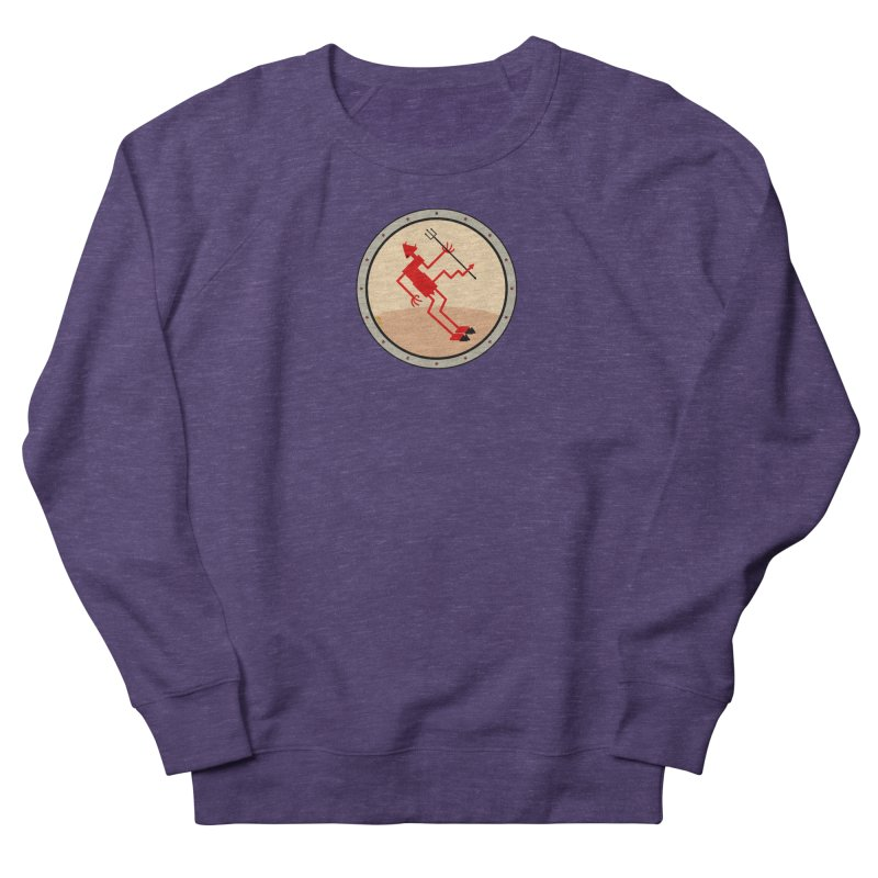 Squiggly Devil Women's French Terry Sweatshirt by falconlara.design shop