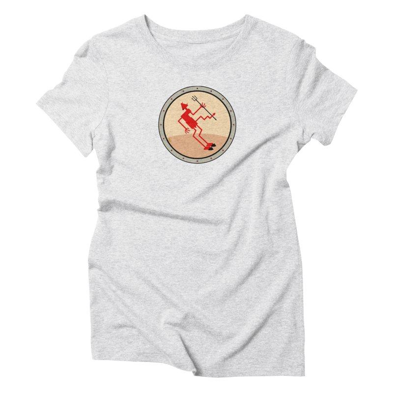 Squiggly Devil Women's Triblend T-Shirt by falconlara.design shop