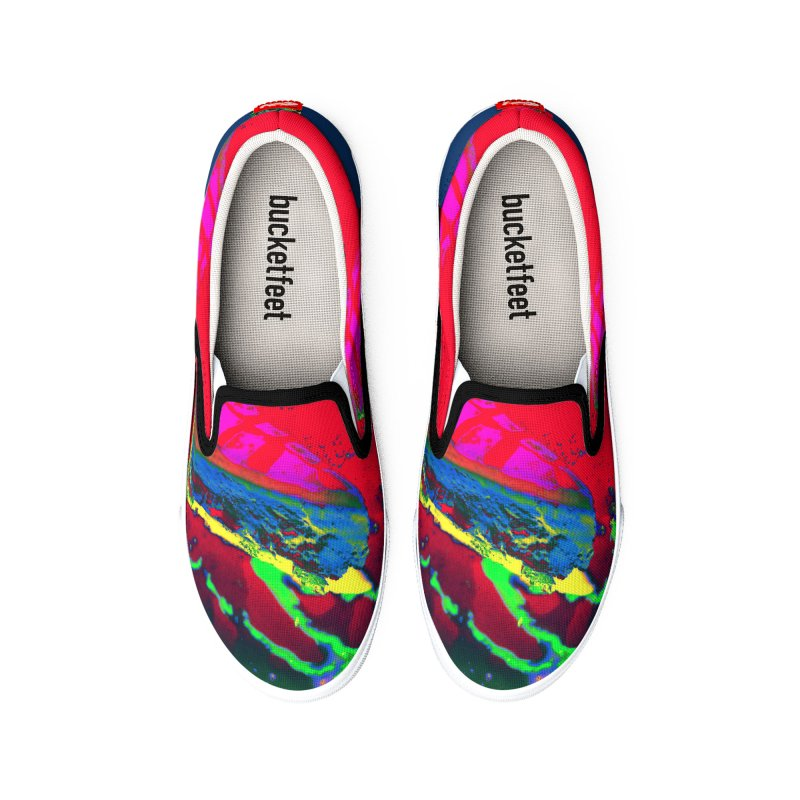 Radioactive Pie Shoes Men's Shoes by falconlara.design shop