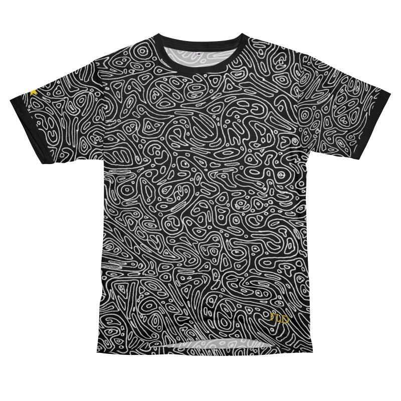 Organic Doodle Men's Cut & Sew by falconlara.design shop