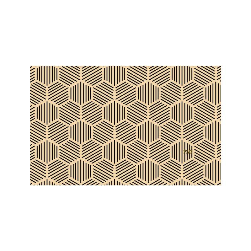 Hexagonal Pattern Men's T-Shirt by falconlara.design shop