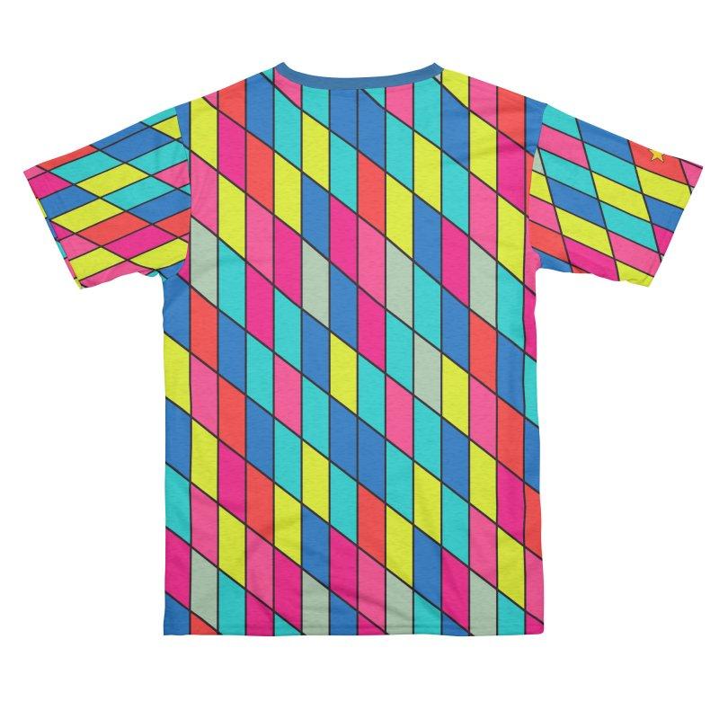 FLD Rhomboid Pattern Women's Cut & Sew by falconlara.design shop