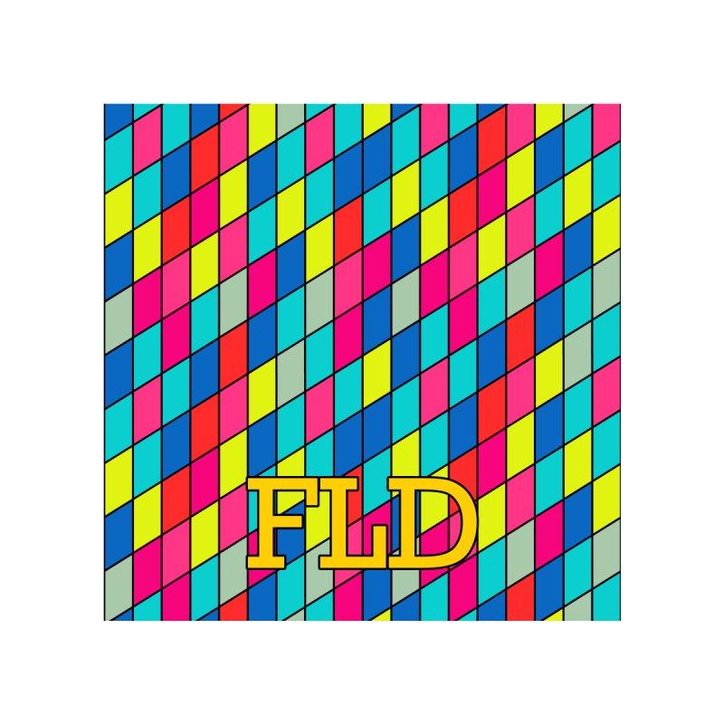 FLD Rhomboid Pattern Men's T-Shirt by falconlara.design shop
