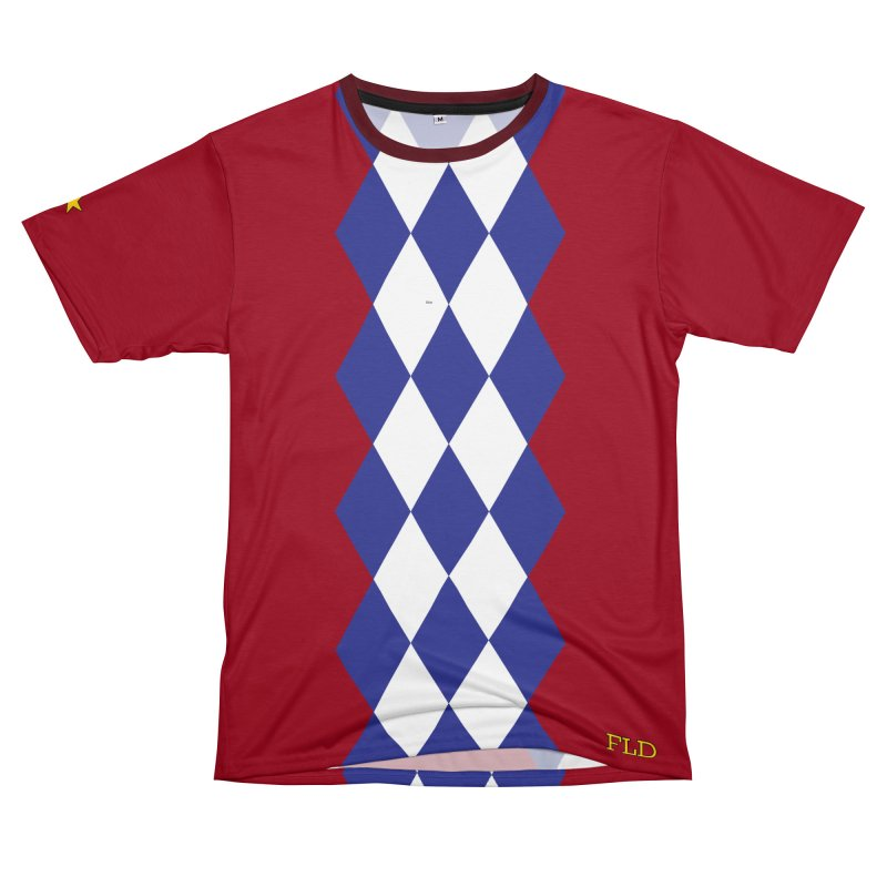 Bright Argyle Men's Cut & Sew by falconlara.design shop