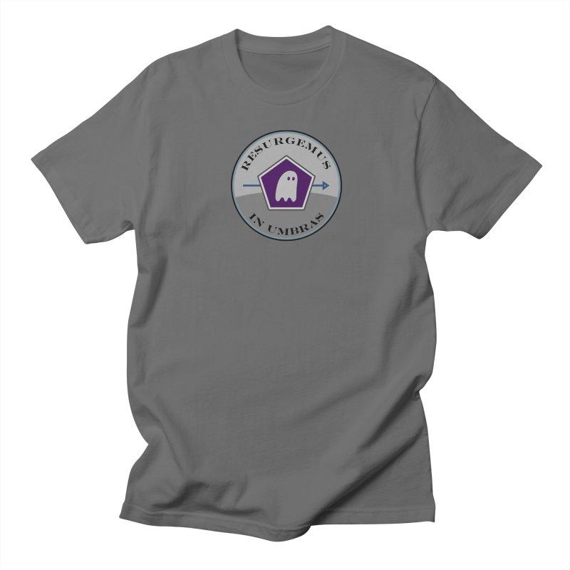 Resurgemus In Umbras Men's T-Shirt by falconlara.design shop