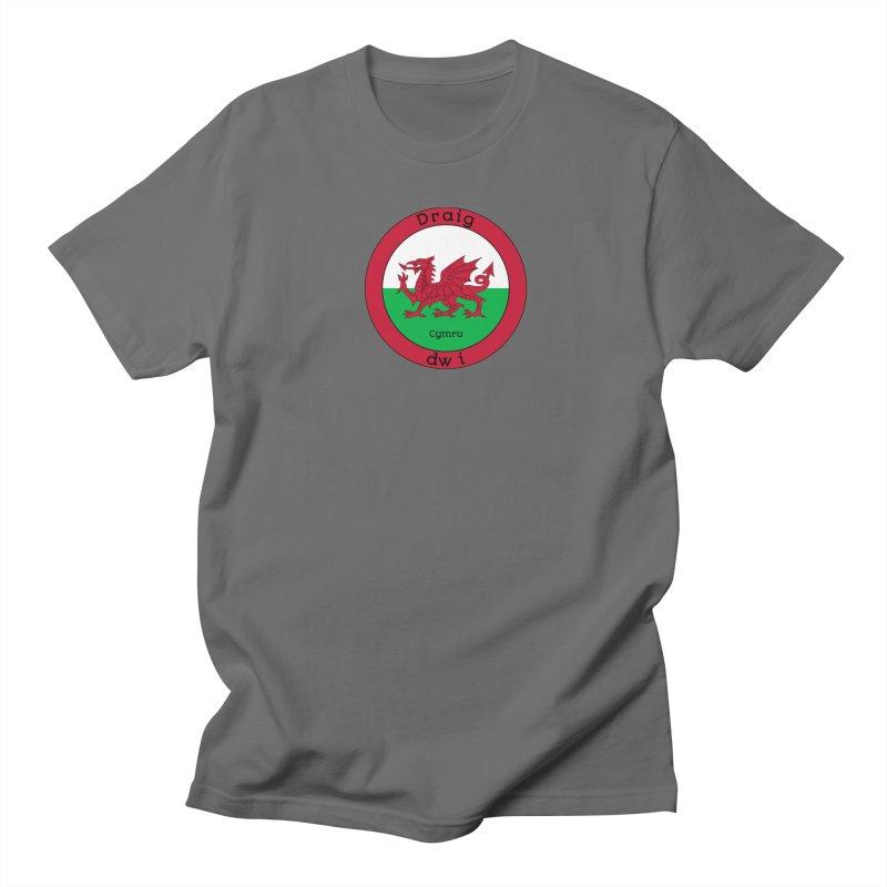 I Am A Dragon Men's T-Shirt by falconlara.design shop