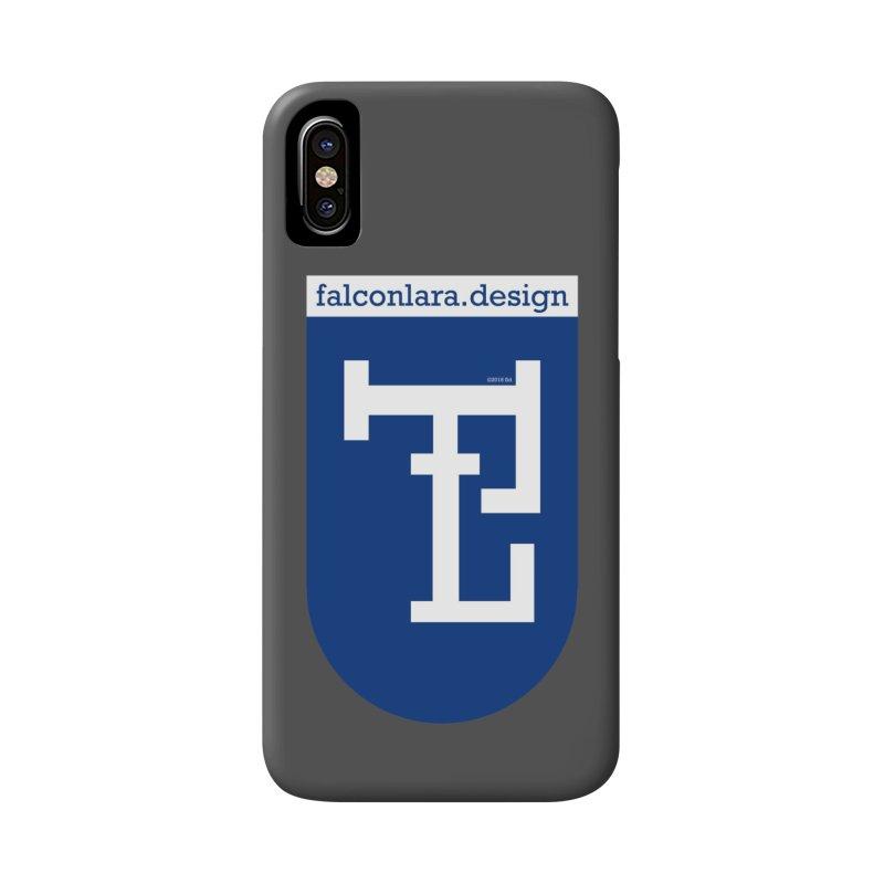 Falcón Lara Herald Blue Accessories Phone Case by falconlara.design shop