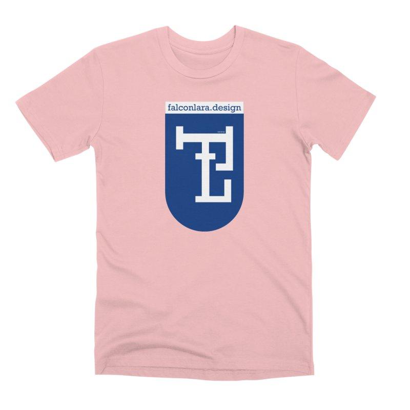 Falcón Lara Herald Blue Men's Premium T-Shirt by falconlara.design shop
