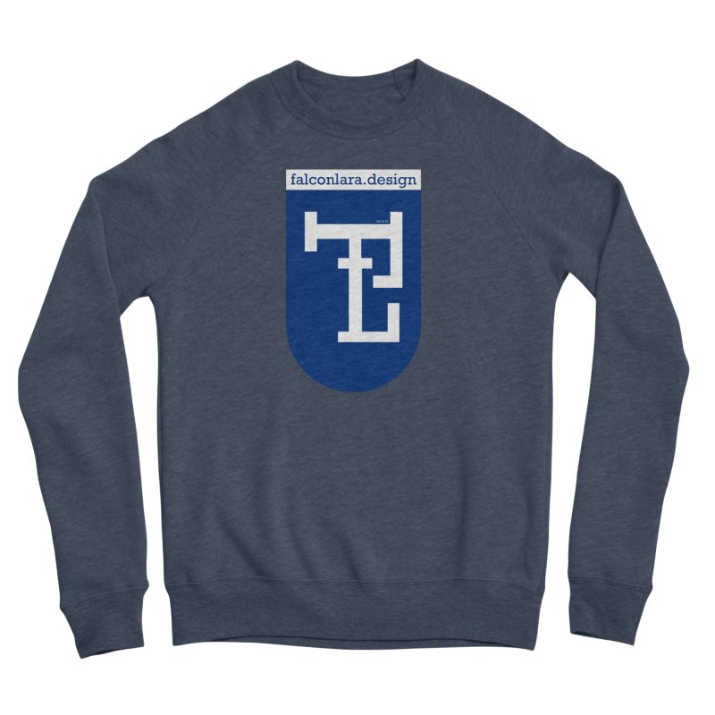 Falcón Lara Herald Blue Women's Sponge Fleece Sweatshirt by falconlara.design shop