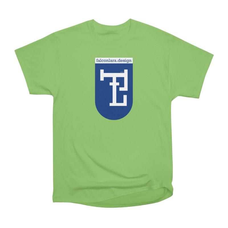 Falcón Lara Herald Blue Women's Heavyweight Unisex T-Shirt by falconlara.design shop