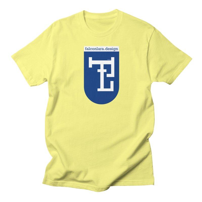 Falcón Lara Herald Blue Men's Regular T-Shirt by falconlara.design shop
