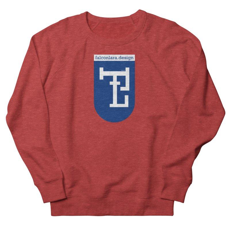 Falcón Lara Herald Blue Women's French Terry Sweatshirt by falconlara.design shop