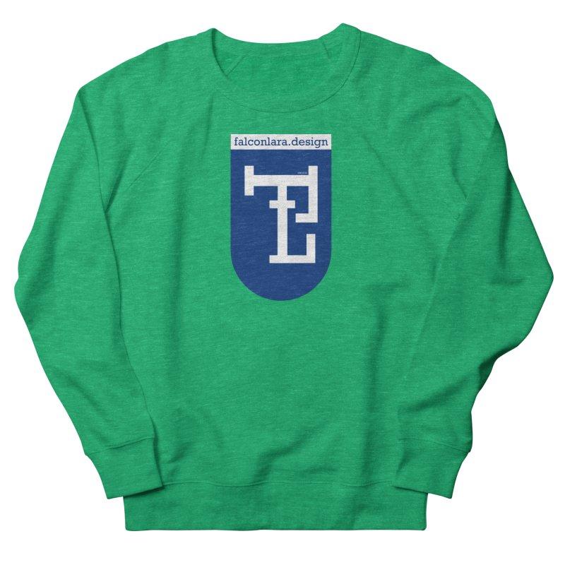 Falcón Lara Herald Blue Men's French Terry Sweatshirt by falconlara.design shop