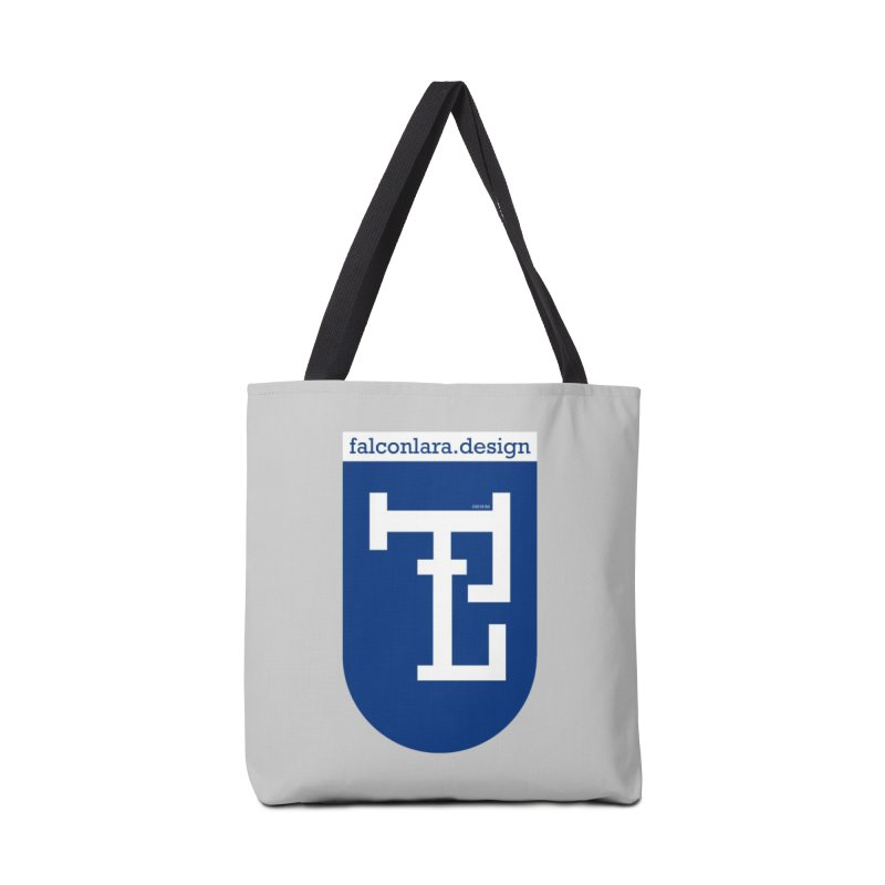 Falcón Lara Herald Blue Accessories Tote Bag Bag by falconlara.design shop