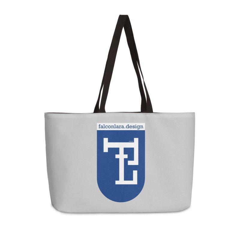 Falcón Lara Herald Blue Accessories Weekender Bag Bag by falconlara.design shop