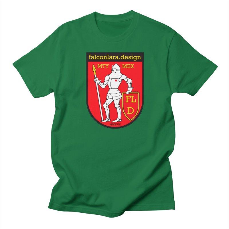 Red Shield Knight Emblem Women's Regular Unisex T-Shirt by falconlara.design shop
