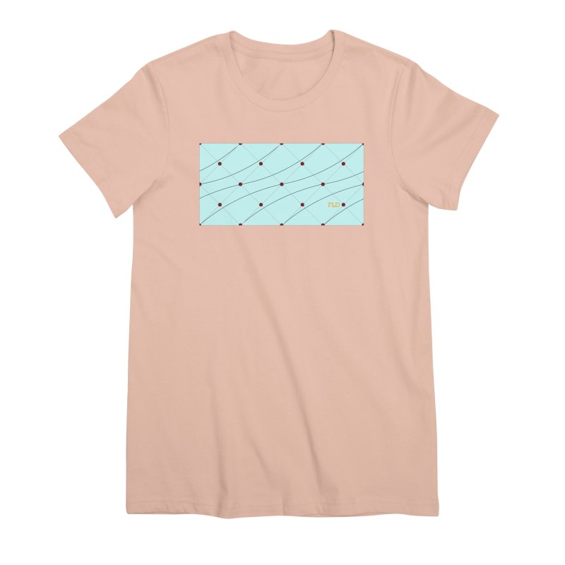 FLD Tufted Design Women's Premium T-Shirt by falconlara.design shop