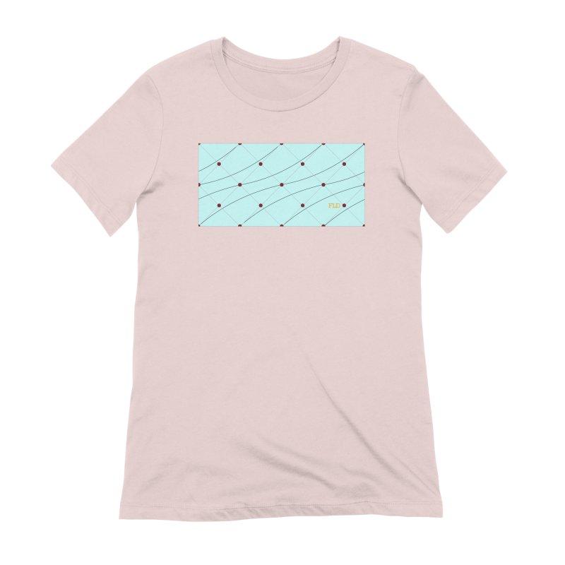 FLD Tufted Design Women's Extra Soft T-Shirt by falconlara.design shop