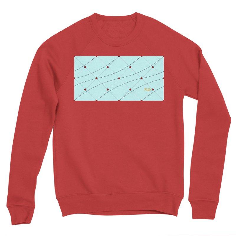 FLD Tufted Design Women's Sponge Fleece Sweatshirt by falconlara.design shop