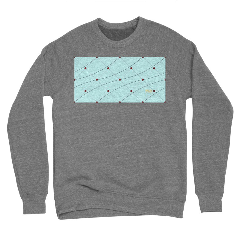 FLD Tufted Design Men's Sponge Fleece Sweatshirt by falconlara.design shop