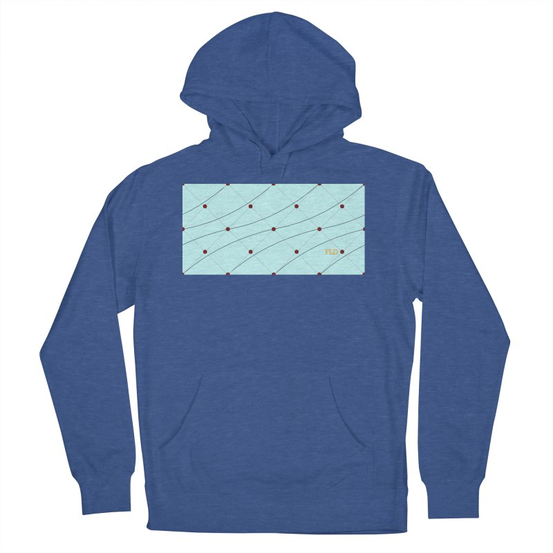 FLD Tufted Design Men's French Terry Pullover Hoody by falconlara.design shop