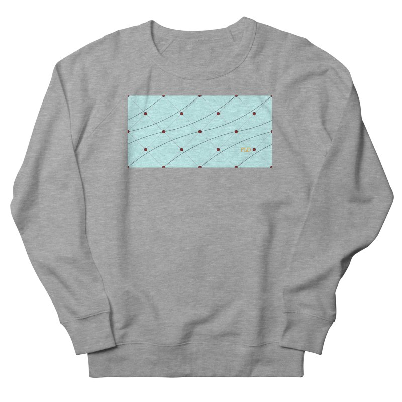 FLD Tufted Design Women's French Terry Sweatshirt by falconlara.design shop