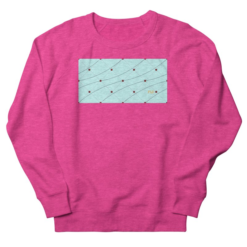 FLD Tufted Design Women's French Terry Sweatshirt by falconlara.design shop
