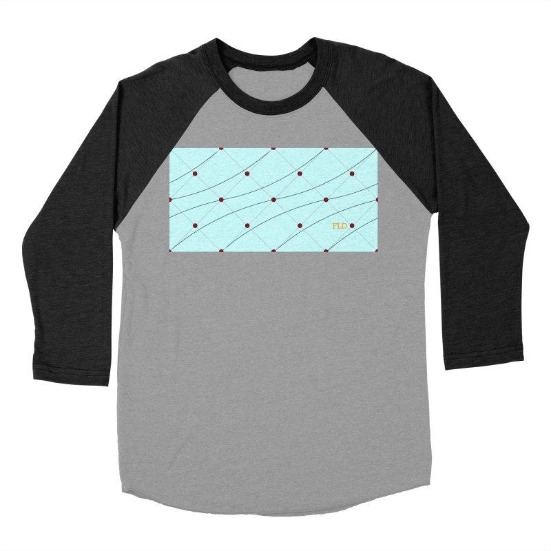 FLD Tufted Design Women's Baseball Triblend Longsleeve T-Shirt by falconlara.design shop