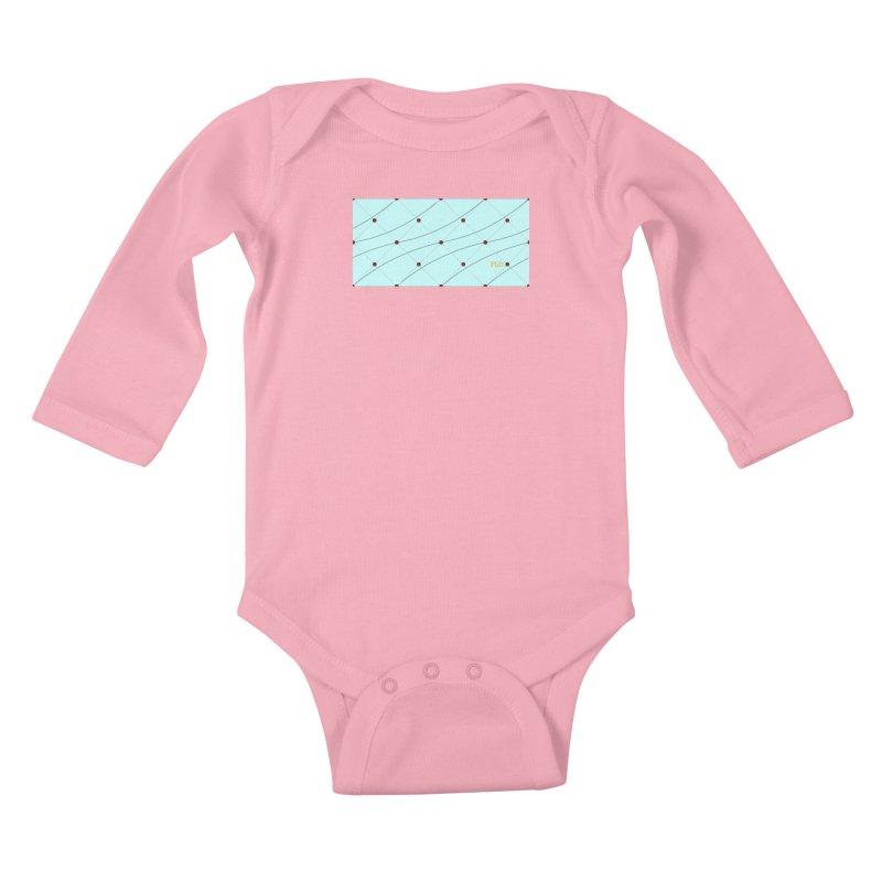 FLD Tufted Design Kids Baby Longsleeve Bodysuit by falconlara.design shop