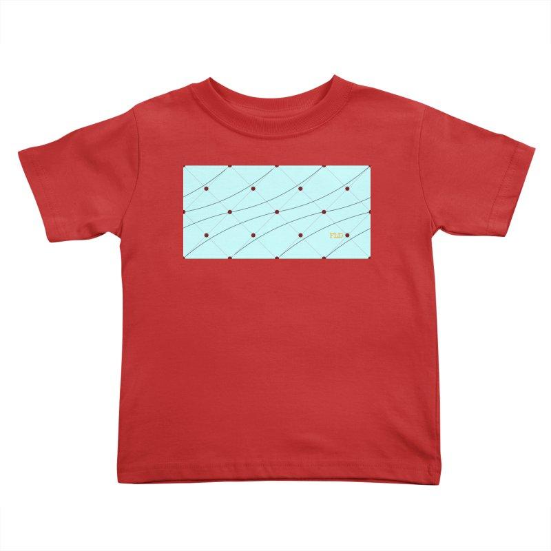 FLD Tufted Design Kids Toddler T-Shirt by falconlara.design shop