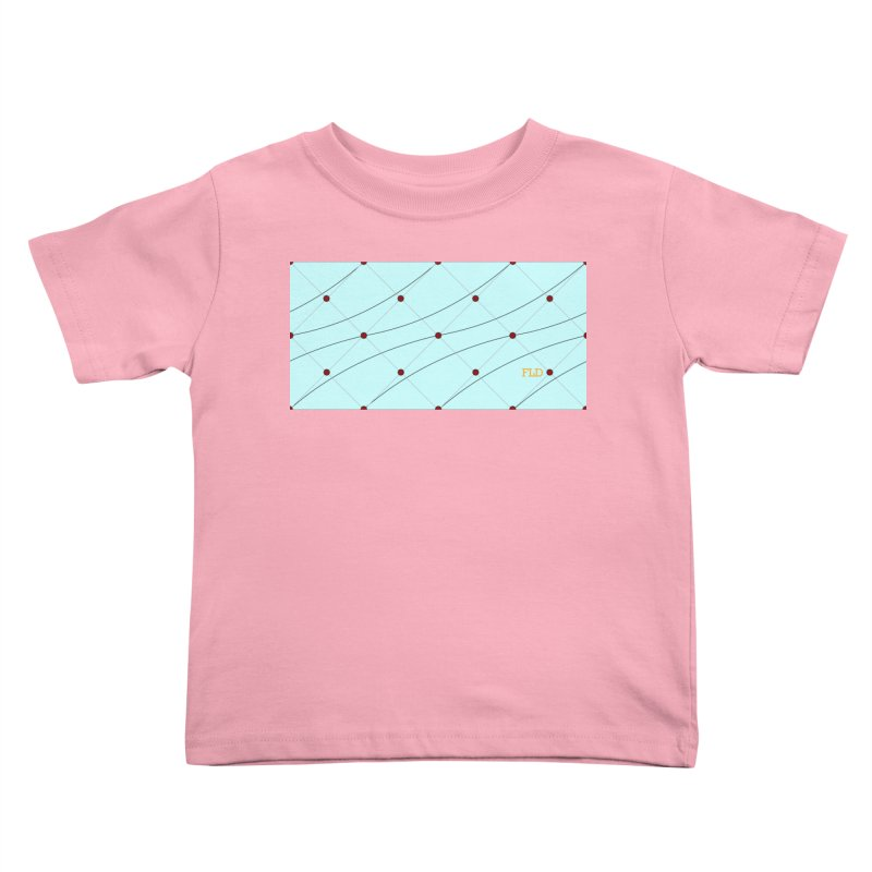 FLD Tufted Design Kids Toddler T-Shirt by falconlara.design shop