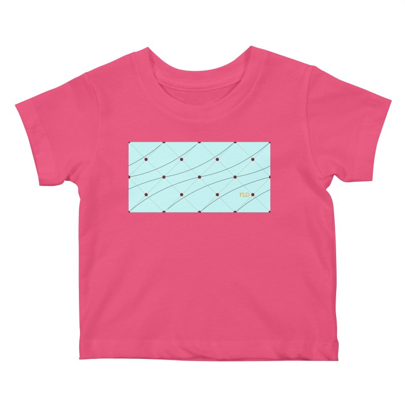 FLD Tufted Design Kids Baby T-Shirt by falconlara.design shop