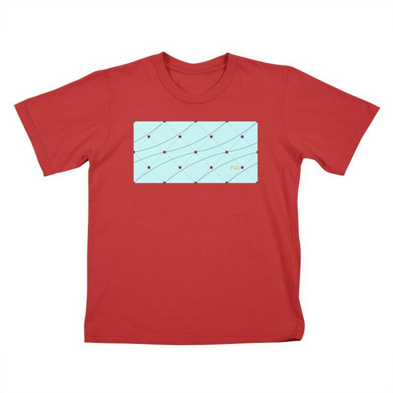 FLD Tufted Design Kids T-Shirt by falconlara.design shop