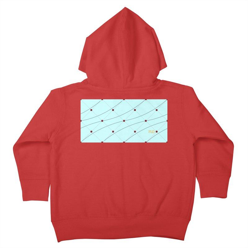 FLD Tufted Design Kids Toddler Zip-Up Hoody by falconlara.design shop