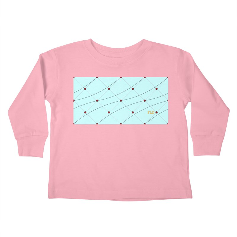 FLD Tufted Design Kids Toddler Longsleeve T-Shirt by falconlara.design shop