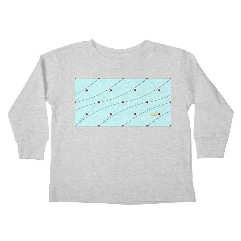 FLD Tufted Design Kids Toddler Longsleeve T-Shirt by falconlara.design shop