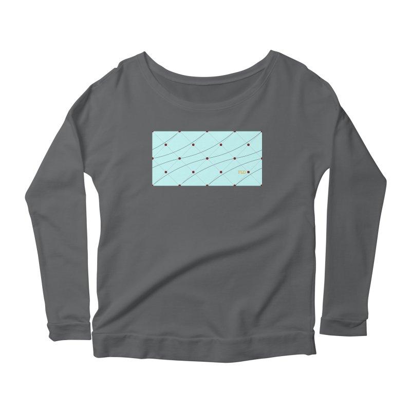 FLD Tufted Design Women's Scoop Neck Longsleeve T-Shirt by falconlara.design shop