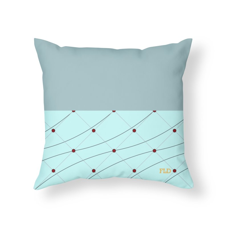 FLD Tufted Design Home Throw Pillow by falconlara.design shop