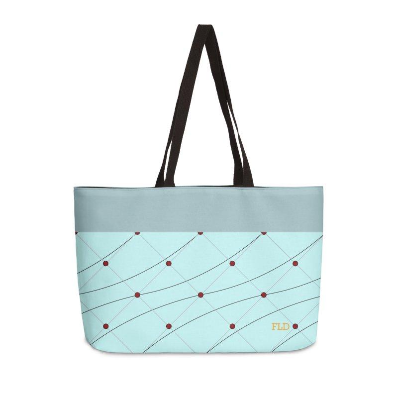 FLD Tufted Design Accessories Weekender Bag Bag by falconlara.design shop