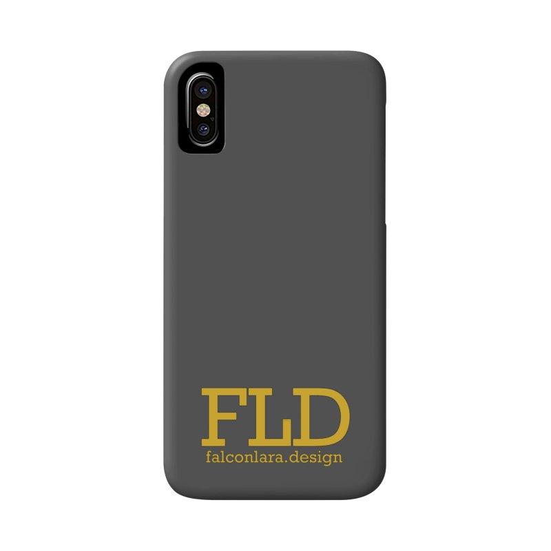 FLD logo defined Accessories Phone Case by falconlara.design shop