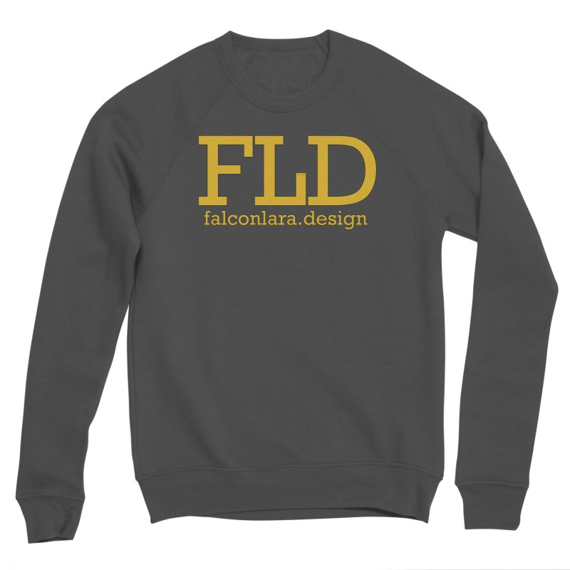 FLD logo defined Men's Sponge Fleece Sweatshirt by falconlara.design shop