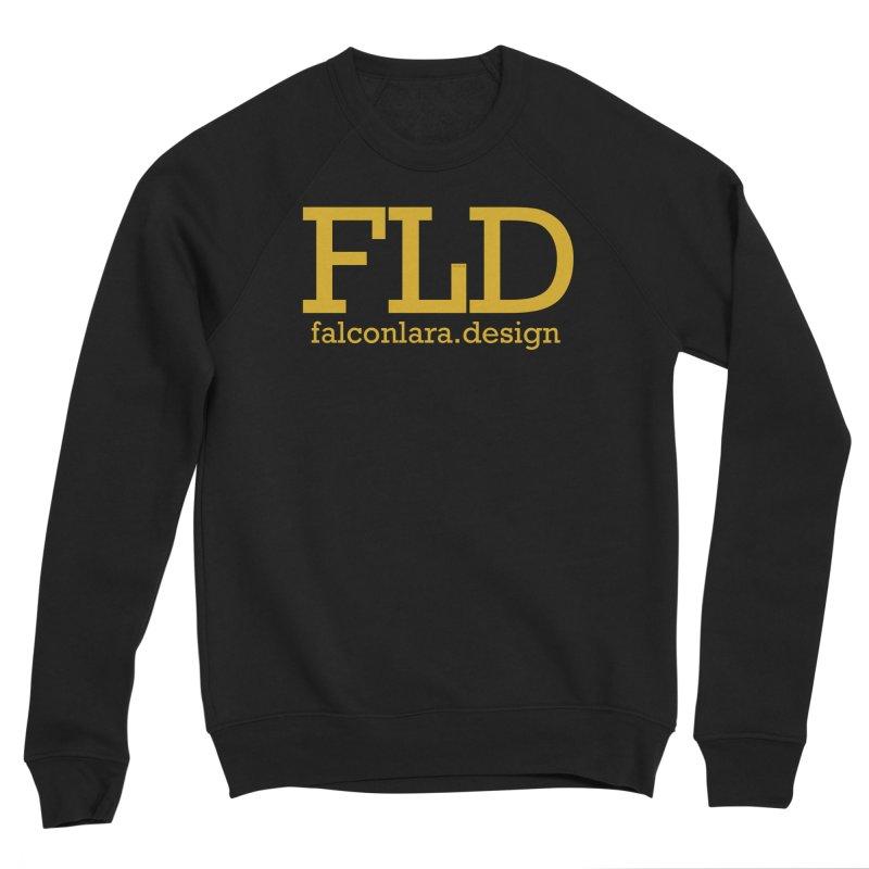 FLD logo defined Women's Sponge Fleece Sweatshirt by falconlara.design shop
