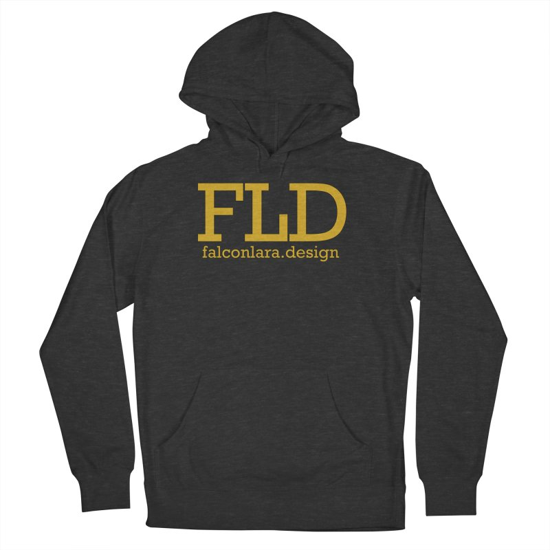 FLD logo defined Men's French Terry Pullover Hoody by falconlara.design shop