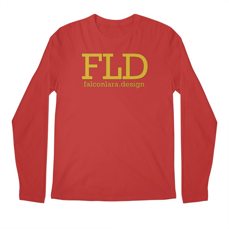 FLD logo defined Men's Regular Longsleeve T-Shirt by falconlara.design shop